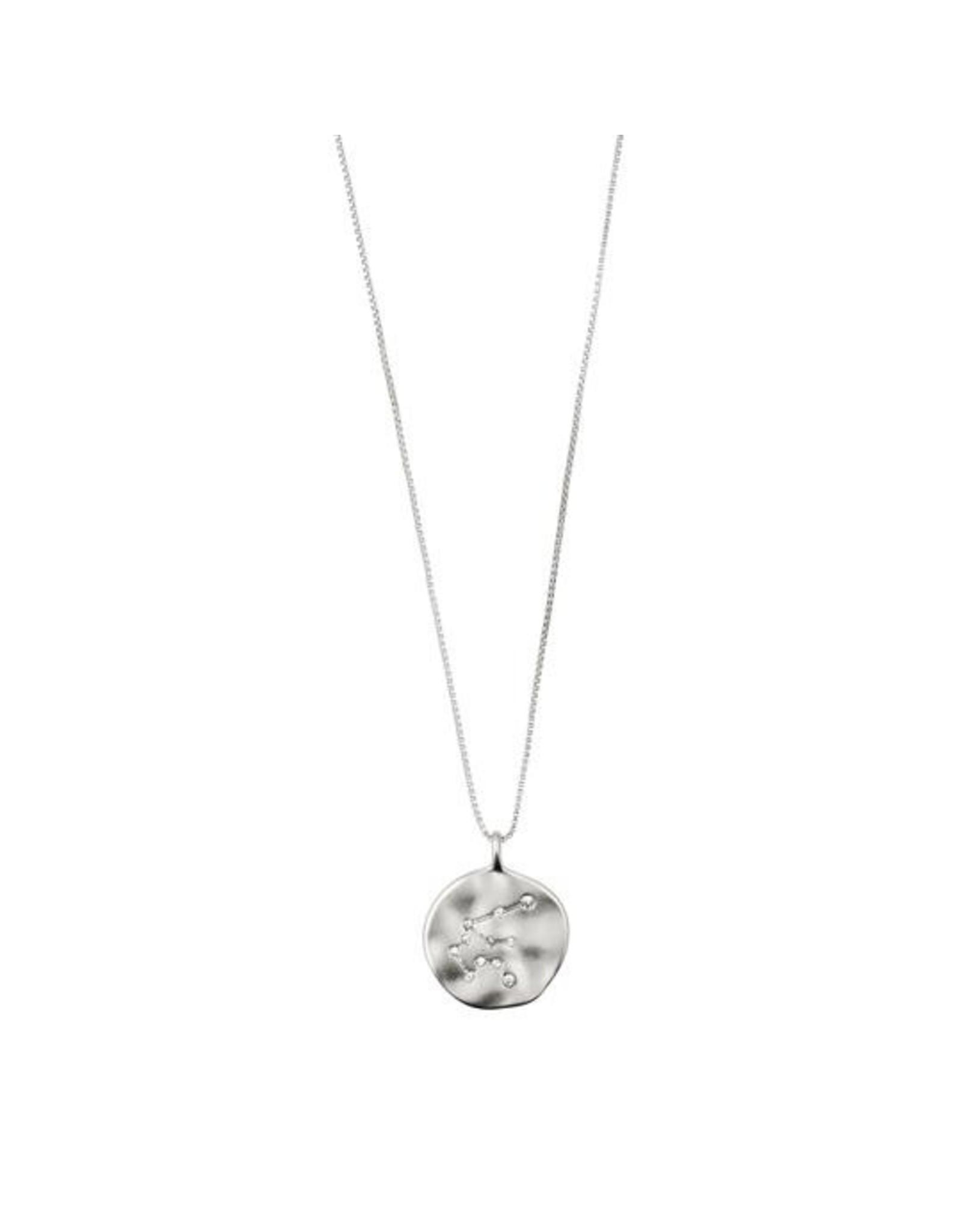 Pilgrim - Aquarius Necklace/Silver Crystal