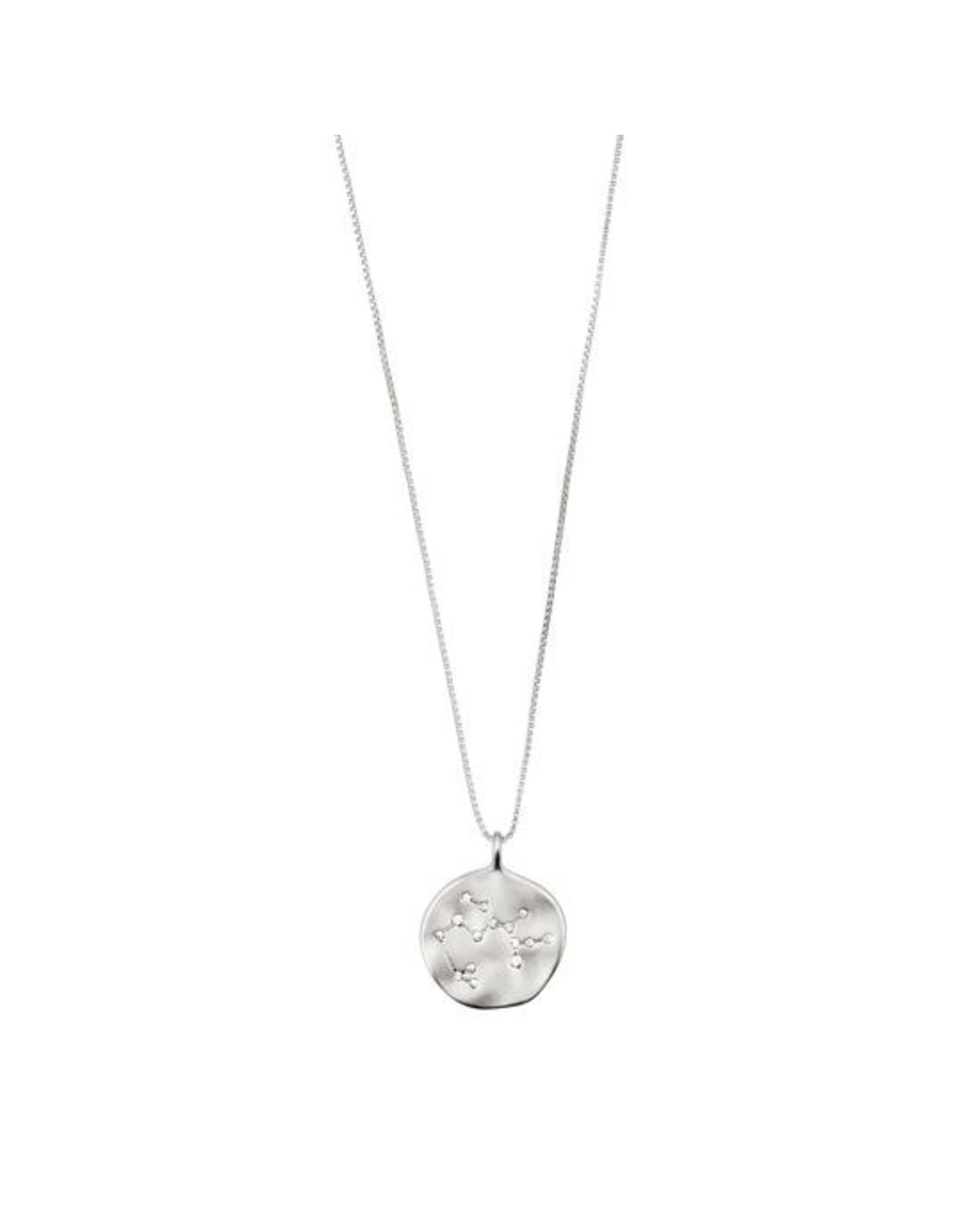 Pilgrim - Sagittarius Necklace/Silver Crystal