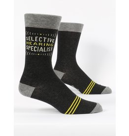 Blue Q - Men's Socks/Selective Hearing