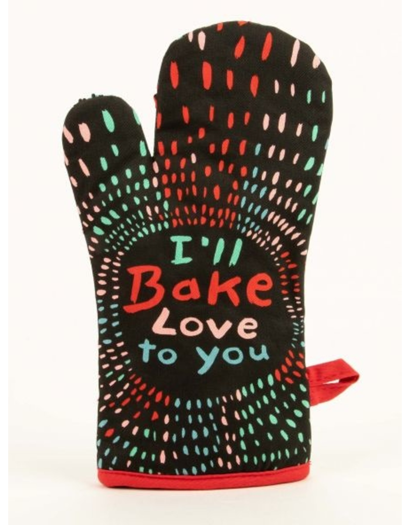 Blue Q - Oven Mitt/Bake Love To You