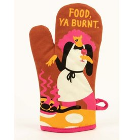 Blue Q - Oven Mitt/Food, Ya Burnt