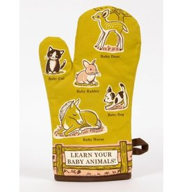 Blue Q - Oven Mitt/Baby Animals