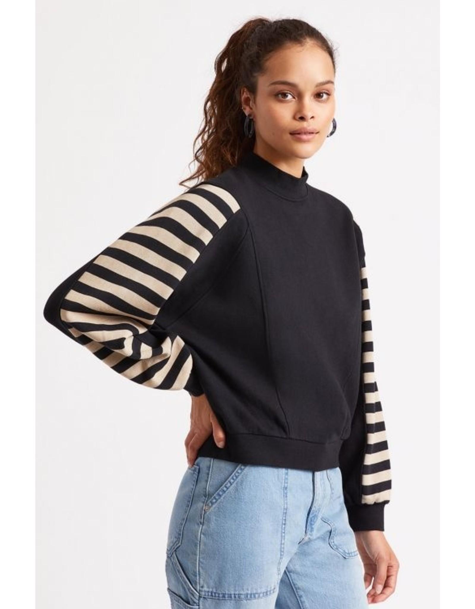 Brixton - Stripe Fleece