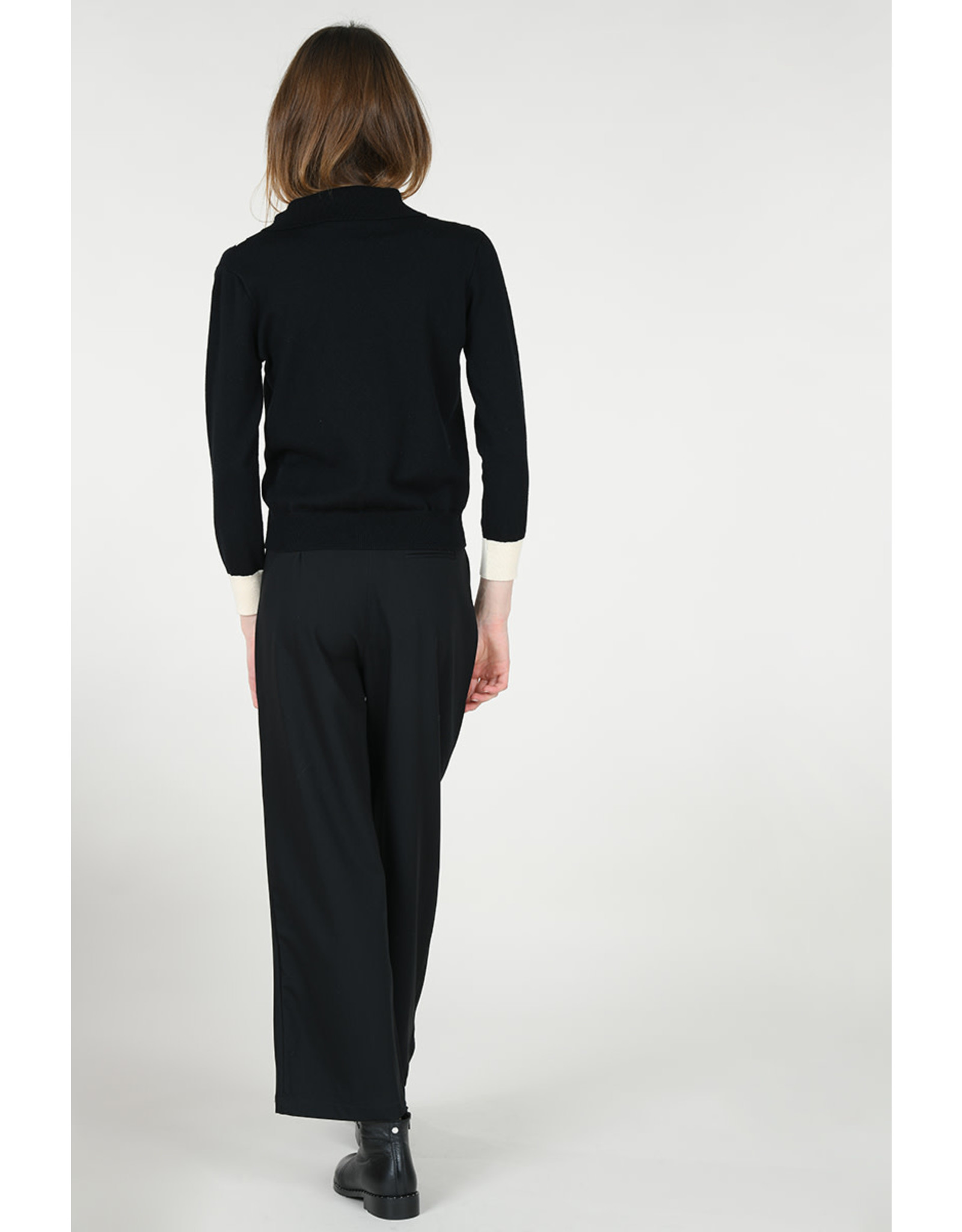 MLY - French Collar Sweater