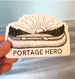 SST - Portage Hero Sticker