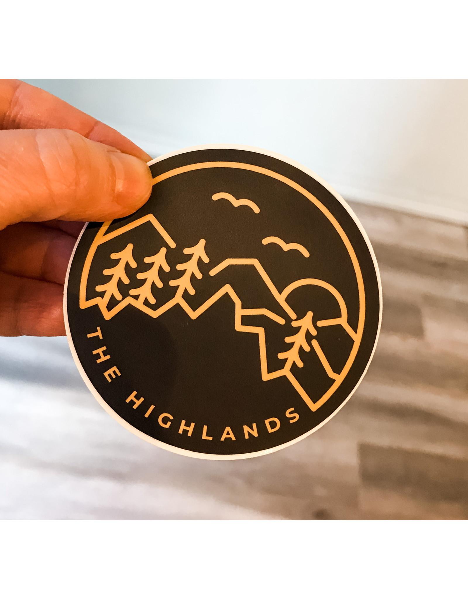 SST - Highlands Sticker