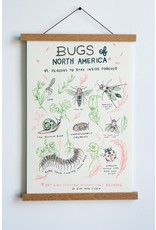"Stay Home Club - Riso Print/Bugs of North America 11"" x 17"""