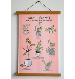 "Stay Home Club - Riso Print/Unfortunate Plants 11"" x 17"""