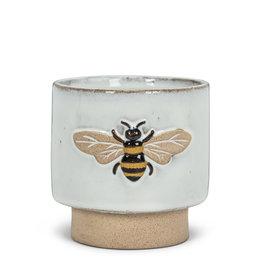 "ATT - Embossed Bee Planter 4"""