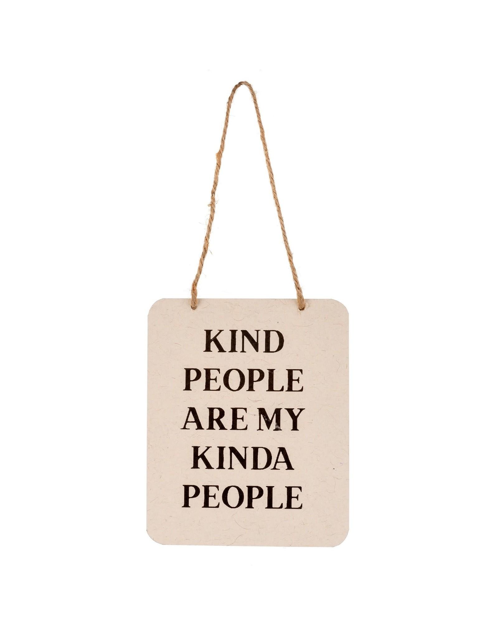 IBA - Kind People Sign