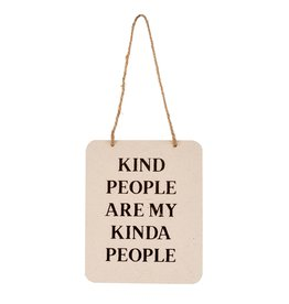IBA - Kind People Sign