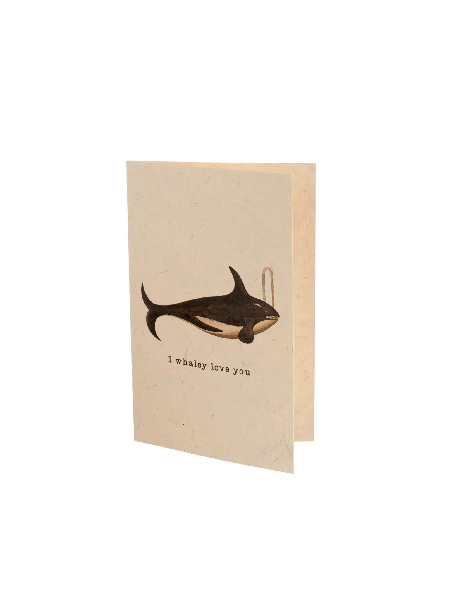 IBA - I Whaley Love You Card