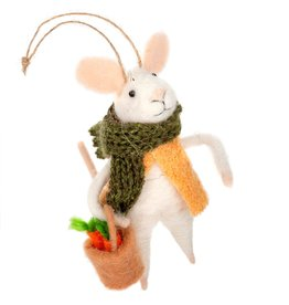 IBA - Felted Ornament/Market Mouse