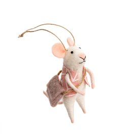 IBA - Felted Ornament/Adventure Mouse