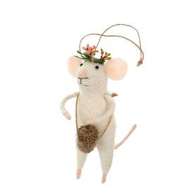 IBA - Felted Ornament/Festival Mouse