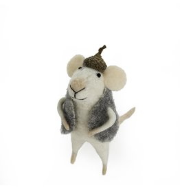 IBA - Felted Ornament/Acorn Mouse