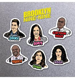 DER - Brooklyn Nine Nine Magnet