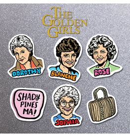 DER - Golden Girls Magnet