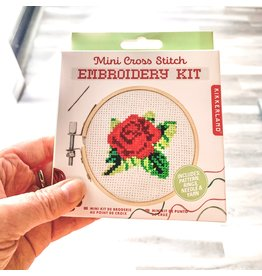 KND - Cross Stitch Embroidery Kit Rose