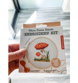 KND - Mushroom Cross Stitch Embroidery Kit