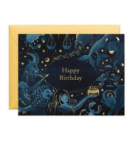 PPS - Zodiac Birthday Card