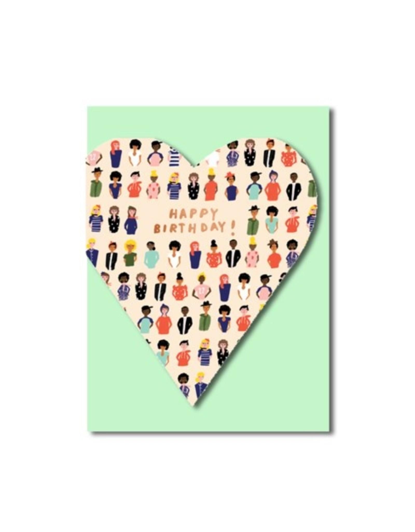 PPS - Card/ Heart Felt Birthday