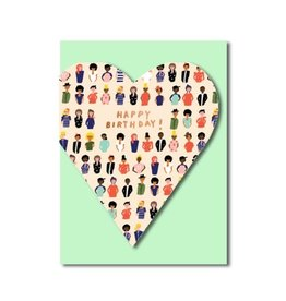 PPS - Heart Felt Birthday Card