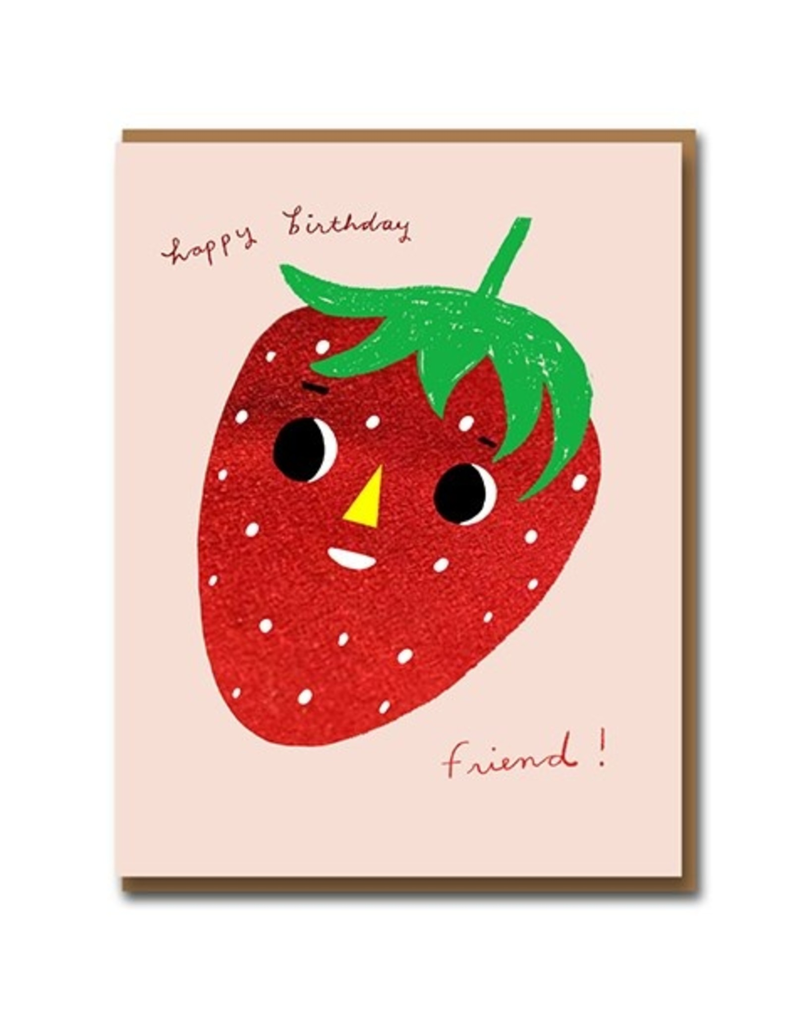 PPS - Strawberry Birthday Card