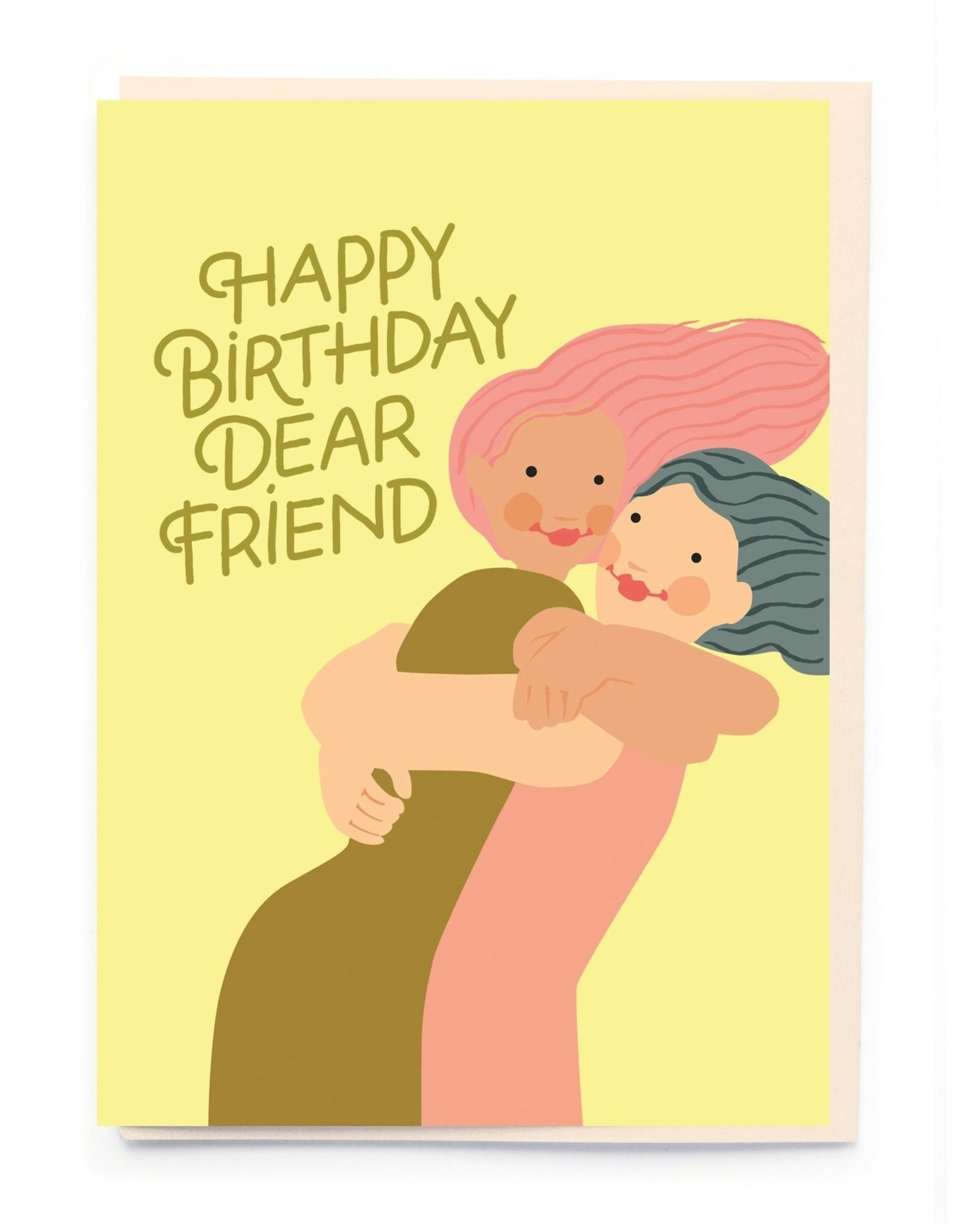 PPS - Dear Friend Birthday Card