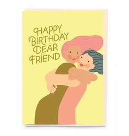 PPS - Dear Friend Birthday Card