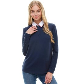 Bonanza - Sorbonne Sweater with Collar
