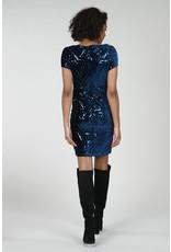 MLY - Velvet Sequin Dress