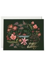 PPS - Card/ Flamingo Birthday
