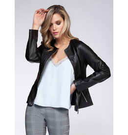 BPE - City Faux Leather Jacket