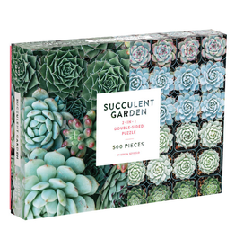 RST - Succulent Garden two sided 500 Piece Puzzle