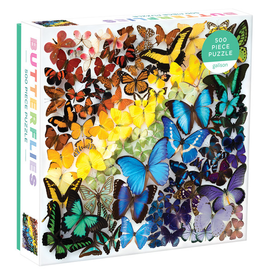 RST - Puzzle Rainbow Butterflies / 500 pcs