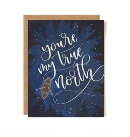 ELE - You're My True North Card