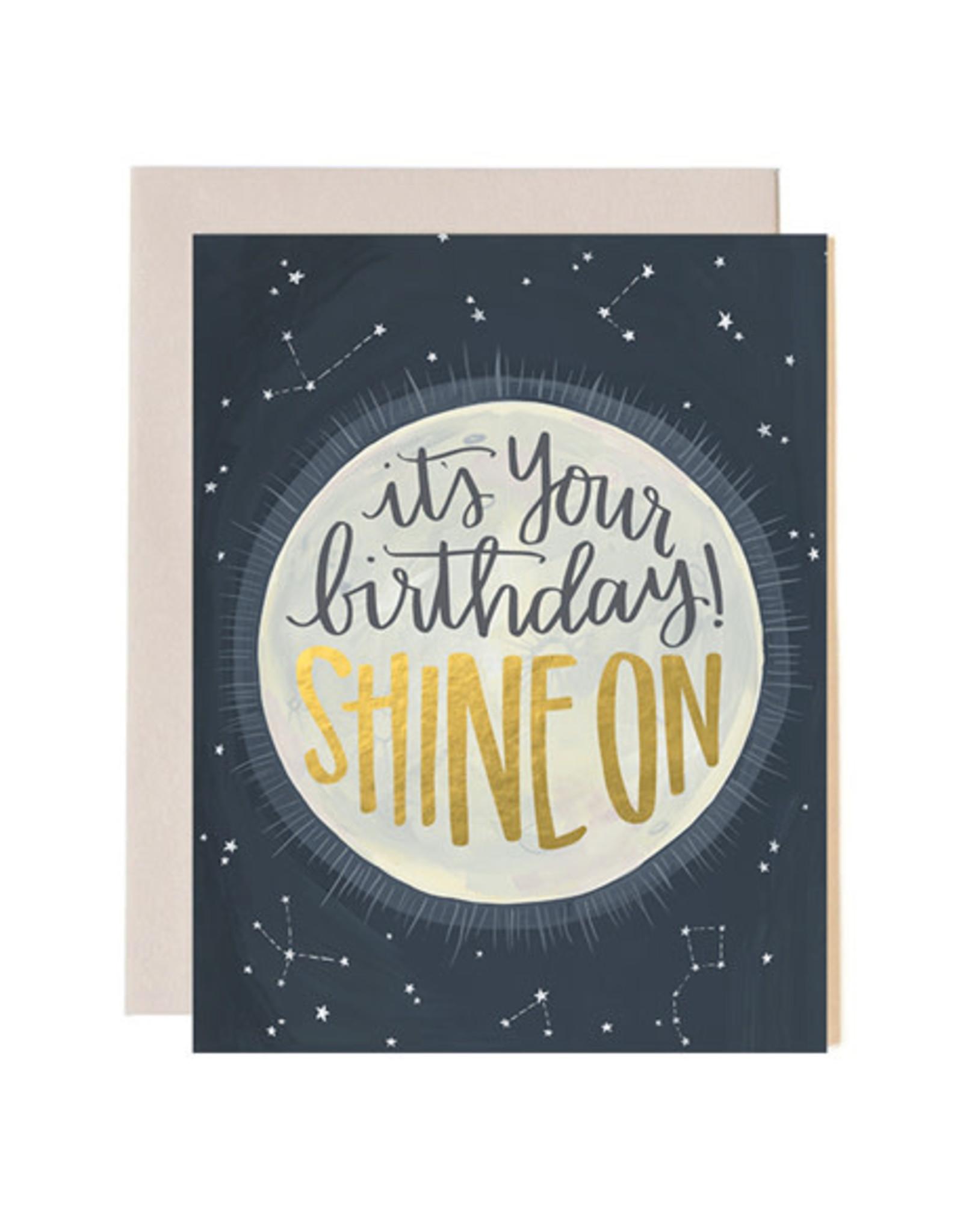 ELE - Card/ Shine On Birthday