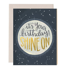 ELE - Shine On Birthday Card
