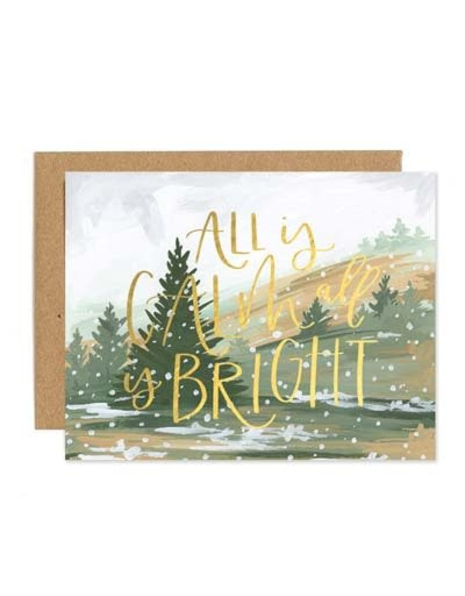 ELE - Calm & Bright Card