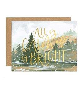 ELE - Calm & Bright Card