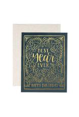 ELE - Best Year Ever Birthday Card