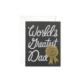 Rifle Paper - World's Greatest Dad Card