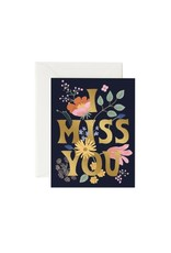 Rifle Paper - I Miss You Card