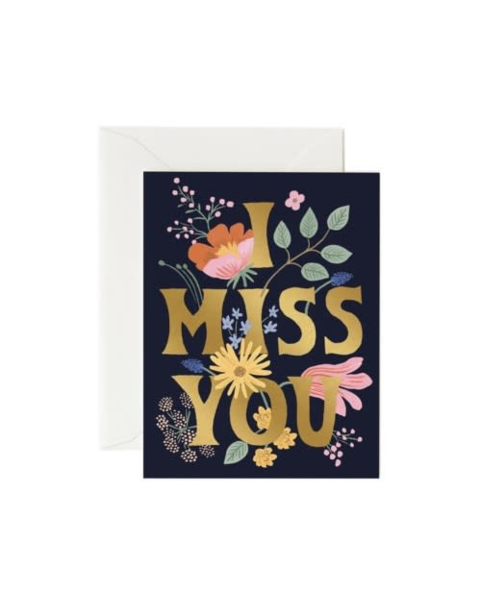 Rifle Paper - Card/ I Miss You