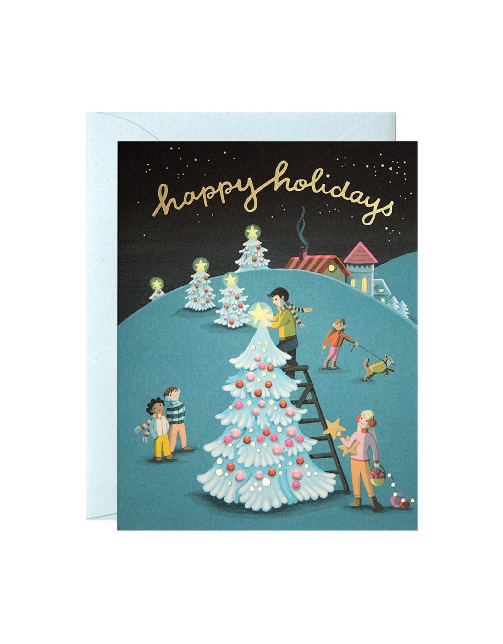 JJP - Tree Decorating Card