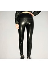 Bonanza - Vegan Leather High Waisted Legging