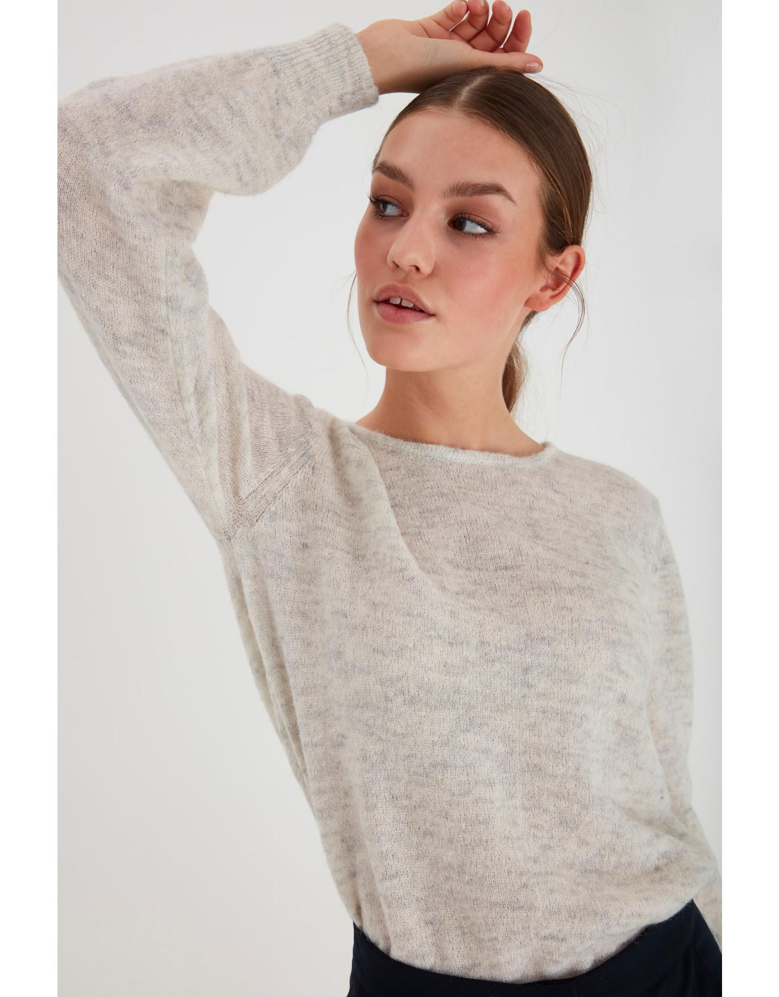 IDK - White Snow Sweater