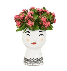 ATT - Pretty Lady Head Planter