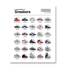 Midnight Oil Print - A Visual History of Sneakers Art Print